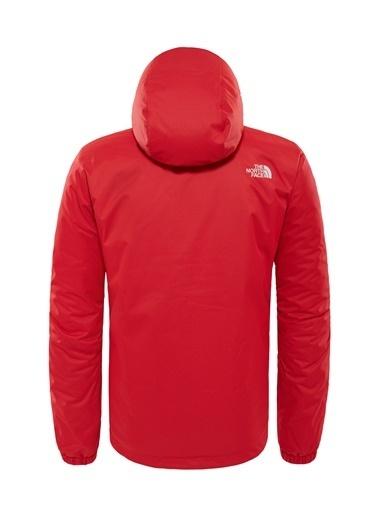 The North Face M Quest Insulated Jk Erkek Mont Kırmızı/Siyah Kırmızı